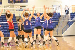 Lubbock LCU Volleyball summer day camps